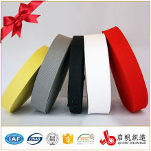 25mm black or colorful nonelastic polyester webbing for garment
