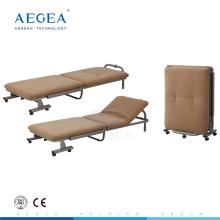 AG-AC010 Tissu mousse housse de matelas hôpital accompagner utilisé chaise pliante