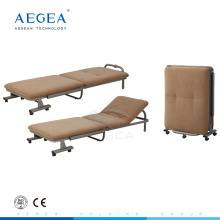 AG-AC010 Fabric foam mattress cover hospital accompany used foldaway bed chair