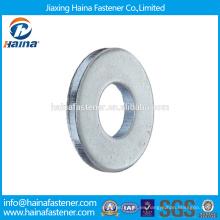 En existencia Proveedor Chino Mejor Precio DIN 125 Acero al carbono / Acero inoxidable Zinc plateado Plain Washer