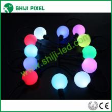 dmx 50mm led punta impermeable led bola dmx llevó luces de cadena rgb dmx