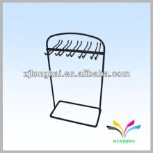 3 looped pegs hanging counter wire socks snack display rack