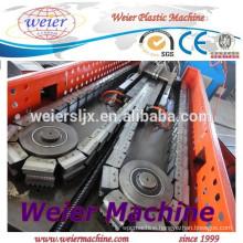 high speed PP PE PVC PA corrugated conduit pipe machinery