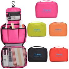 Bolsa de viagem promocional de poliéster moda 300d para lavagem de produtos de higiene pessoal (YKY7530)