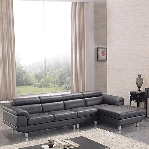 Leather Chaise Sofa