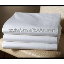 polycotton T180 percale commerciale linge blanc draps