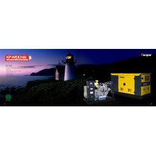 Weifang Ricardo Diesel Engine Portable Silent Generator Diesel Power Genset 50kw