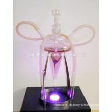 GH080-LT schönes Glas Chicha Huka / Shisha / Nargile Rohr / Wasser Rohr / mit LED Licht / sheesha / narguile