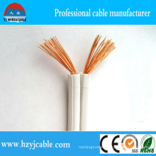Pure Copper Non-Sheathed Twin Core Spt Cable, Flexible Parallel Cable, 18 AWG Lamp Wire