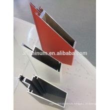 china visible aluminum frame glass curtain wall profiles