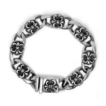 Femmes et hommes Punk Style Bracelet Bijoux en acier inoxydable Accessoires de mode