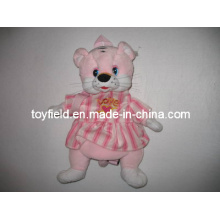 Plush Toy Bag Backpack Pink Mouse Plush Bag