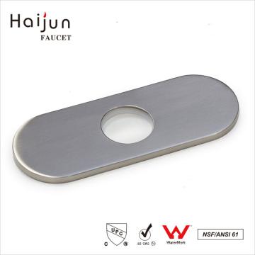 Haijun 2017 New Luxury Beautiful Bathroom Water Sink Single Hole Faucet Deck Plate