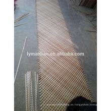 Gabinete de cocina Celosía de madera / paneles de celosía de madera decorativos