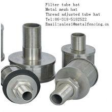 Gewinde eingestellt Metallgitter Filterrohr Hut