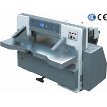 Digital display single worm wheel single hydraulic paper cutting machine