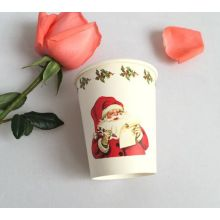 8oz Christmas Party Hot Paper Cup