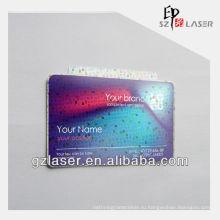 Наклейка для многослойных пластиковых голограмм для идентификационной карты, PET + EVA
