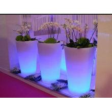 Maceta decorativa LED de diseño especial