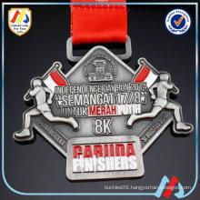 run for asian games 2018 finisher green medal/run medal ribbon
