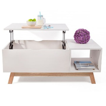 Amazon Hot Selling Clear Acryl Verstelbare hoogte Salontafel
