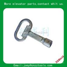 Triangle Lock Key Elevador peças Triangle Lock Chave Elevador bloqueio