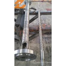 Parafuso de maquinaria de sopro de filme HDPE / LDPE e barril