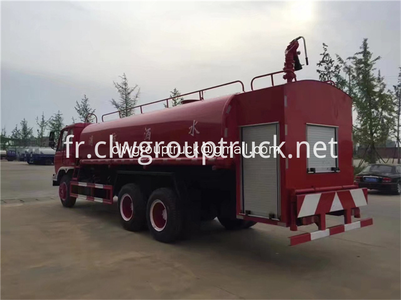 Dongfeng 6x2 Water Tanker Truck 8