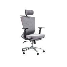 Chaise ergonomique minimaliste moderne à grille élevée avec cintre