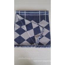 New design mercerized wool shawl from china