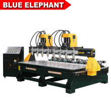 1325 8 Spindles 3D Wood Router CNC with Vacuum for Making Furniture