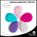 5 Pcs Silicone Makeup Sponge Foundation Powder Puffs Beauty Sponge Blender Make Up Sponge Set Makeup Applicator for Powder