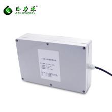 Caja recargable de encargo de la batería del sistema solar 100ah 48v del ciclo profundo del OEM de la fábrica para las luces de calle solares