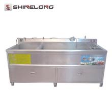Laveuse et sécheuse à légumes commerciale ultrasonique d'équipement de cuisine