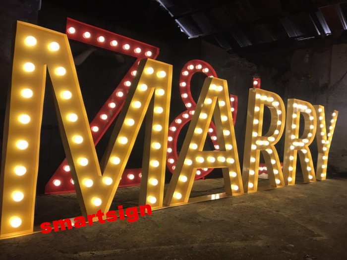 Event Marquee Letter Signs