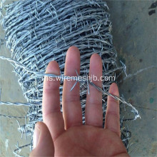 12 * 12 Double Twist Barbed Wire Untuk Pagar
