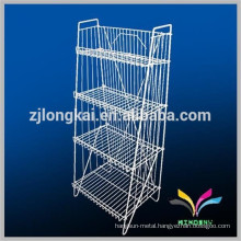 Well price supermarket store used wire water can dispenser stand