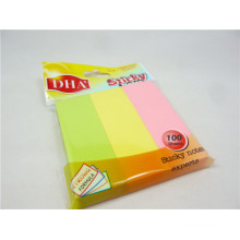 Manufacturer Direct Sale 3inchx3inch 3 Neon Colors Comibation Sticky Note