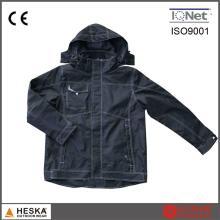 Novo trabalho terno fita costura segurança jaqueta impermeável Mens Bomber
