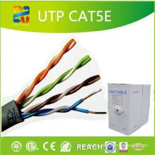 Câble de réseau standard Cat5e cuivre / CCS