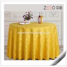 Neue Jacquard-Design Tisch-Bettwäsche Hochzeit rund billig gebrauchte Tischdecke