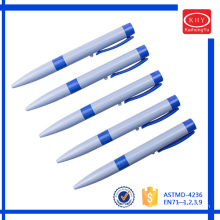 New design product customized stamp LED light ballpoint pen