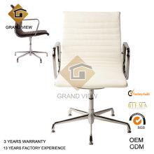 Chaise de conférence écrit en cuir blanc moderne (GV-EA108)