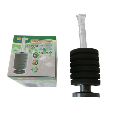 XY-180 Bio-Sponge Filter For Fish Tank Water Treatment 80L