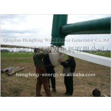 CE direct drive low speed low starting torque permanent magnet generator 50kw horizontal axis wind power turbine
