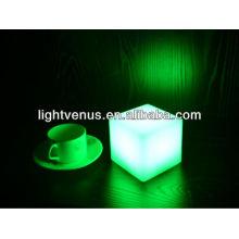 mini cubo led con usb, 10 * 10 * 10 cm mini cubo LED, mini cubo de mesa LED