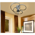 Modern Led Circle Ring Ceiling Lamp Luxury Crystal Ceiling Light Fixture For Living Room Bedroom