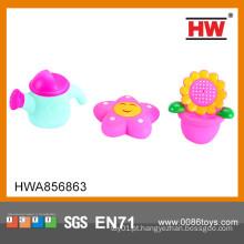 Hot venda 3pcs borracha água borracha spray brinquedos