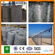 ISO9001 Military galvanized barbed wire