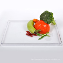 """Plastic Plate Disposable Tray 15""""Rectangular Tray"""